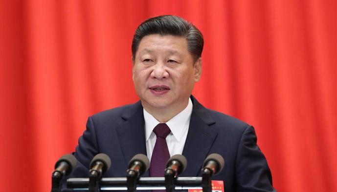 习近平代表第十八届中央委员会向大会作报告